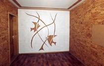 ремонт стен в Калтане