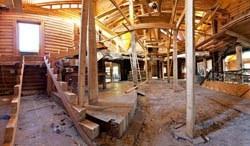 реконструкция зданий в Калтане