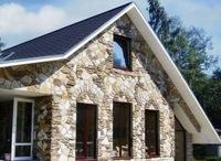 Монтаж фасадов, облицовка зданий кирпичом и камнем в Калтане