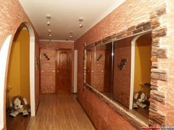 отделка коридора в Калтане